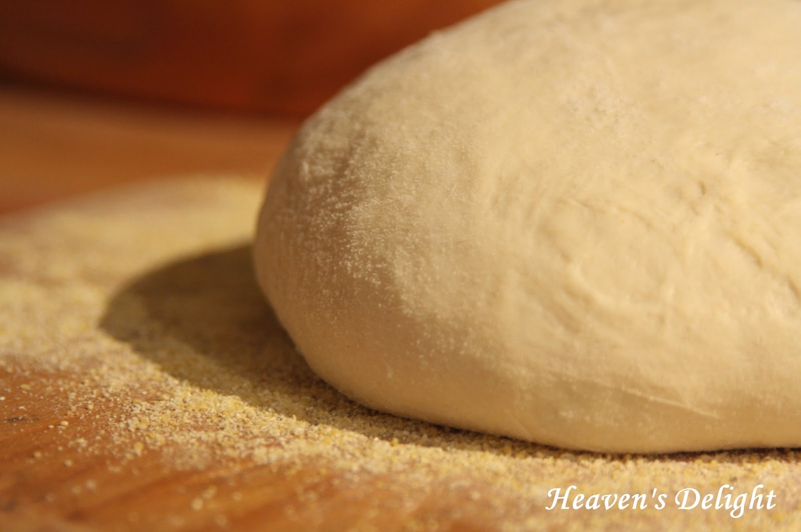 Pizza Dough (without mixer)