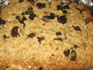 flapjack from leftover porridge