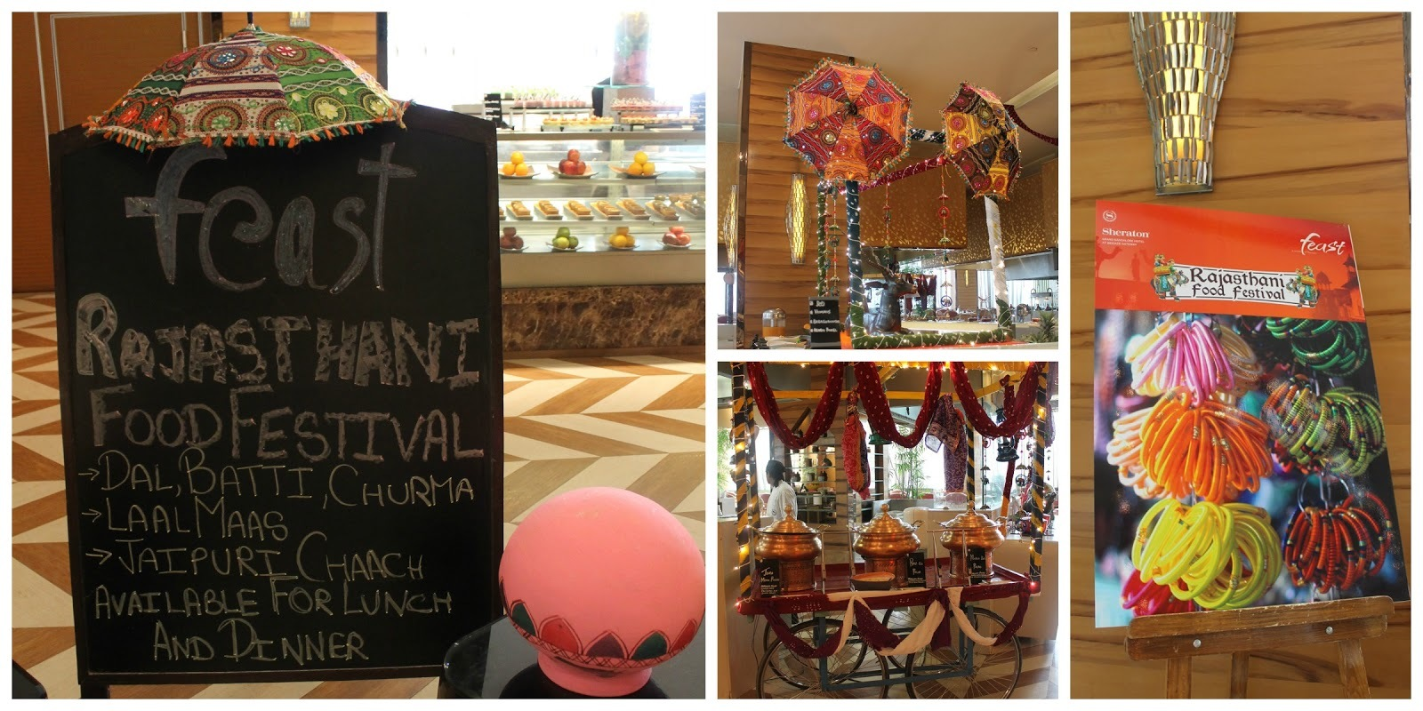 Rajasthani Food Festival At Feast, Sheraton Grand, Brigade Gateway, Bangalore
