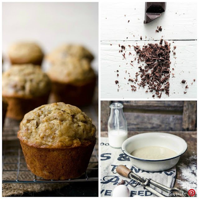 Muffins cocco e cioccolato / Coconut & chocolate muffins recipe