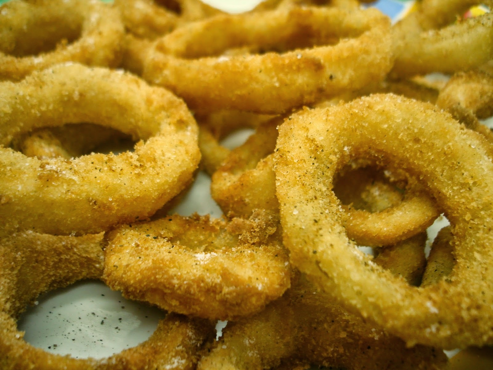 Anéis de Cebola (Onion Rings) Super Crocantes!!!!!