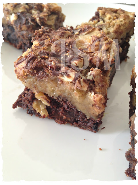 Brownie Fantasy Bars