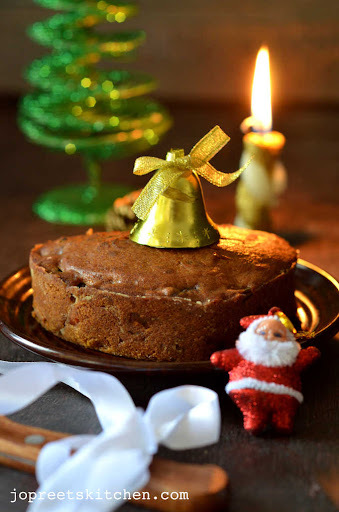 Christmas Fruit Cake / Plum Cake (No Alcohol Version) - Christmas Recipes