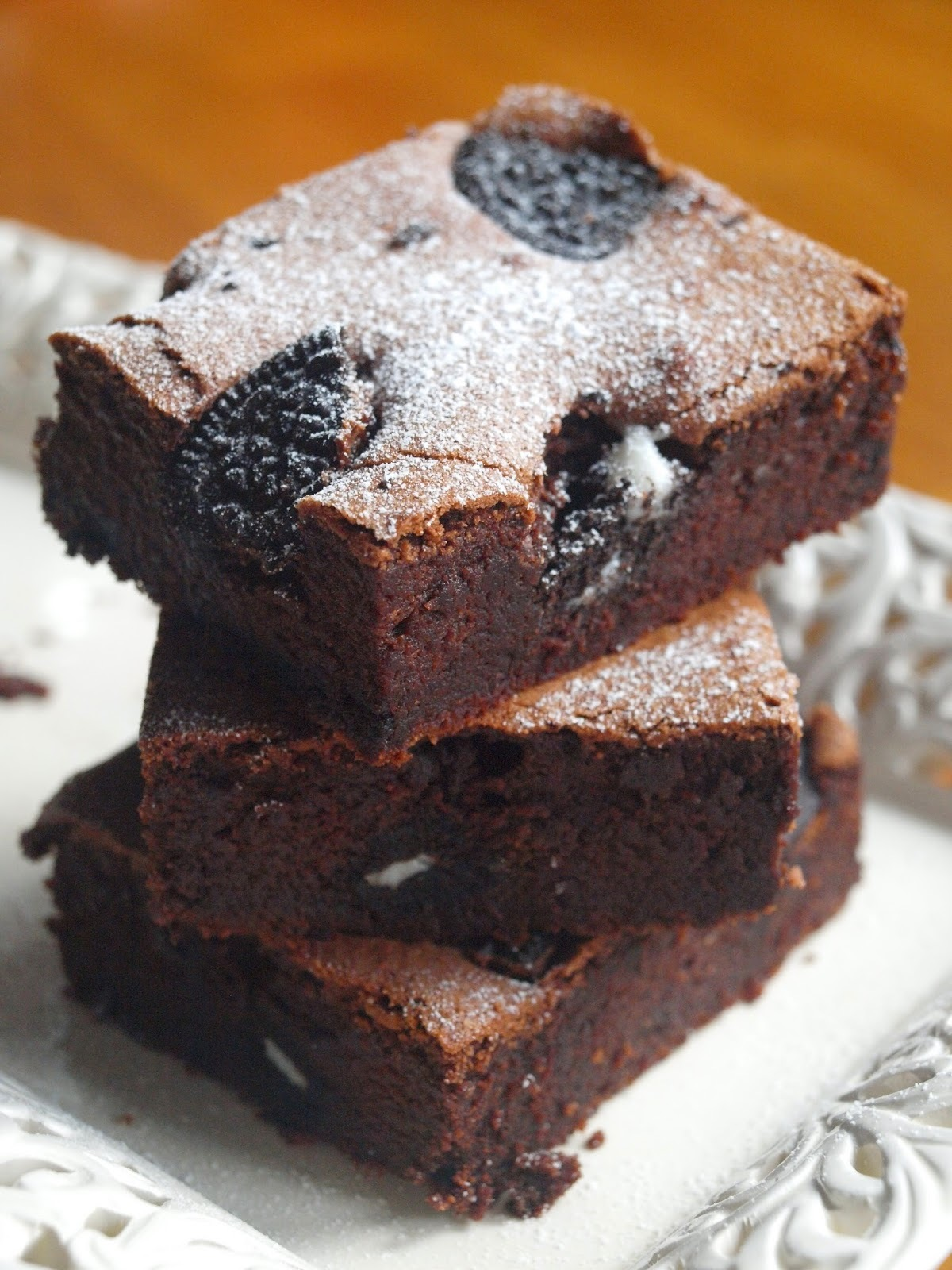 Cookies & Cream Fudge Brownies