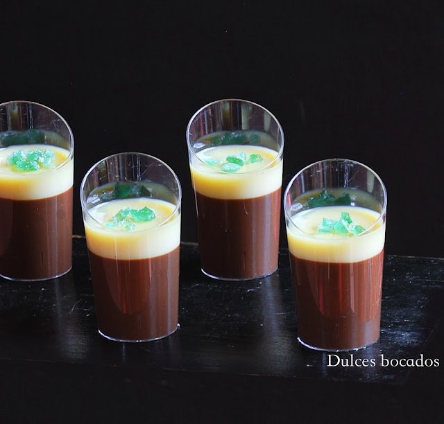 Crema doble chocolate a la menta