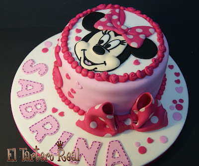 Tarta Minnie Mouse 2D