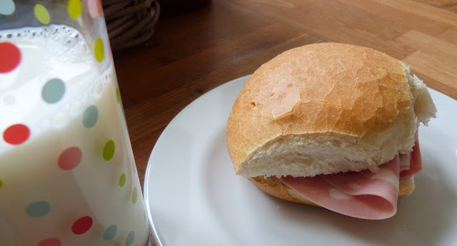 Food memories of Italy ~ mortadella and backpacks