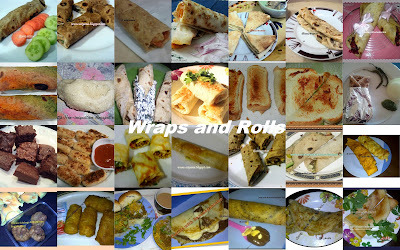 Round Up : Healthy Food for Healthy Kids - Wraps and Rolls
