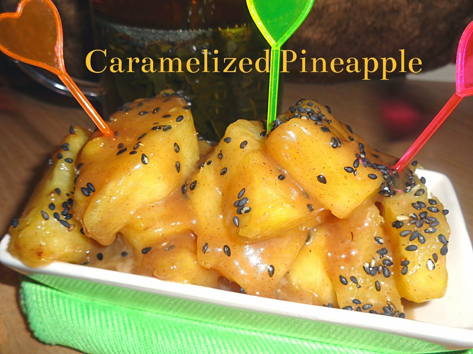 Karmelowy ananas - Caramelized Pineapple