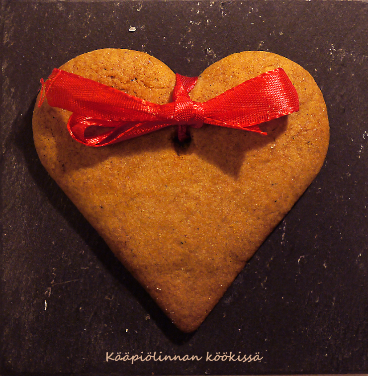 All for the gingerbread - helpot ja maukkaat Paraisten piparit