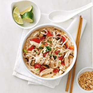 Thai Chicken Noodle Bowl