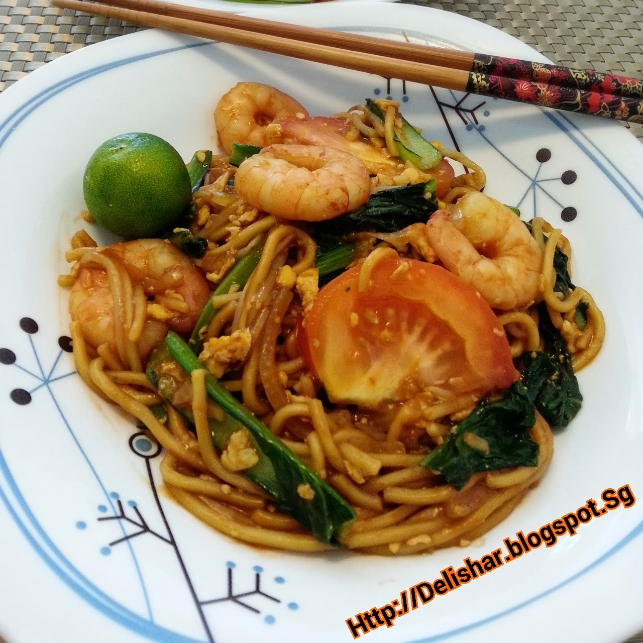 Chinese Style Mee Goreng (Tze Char Malay Fried Noodles)