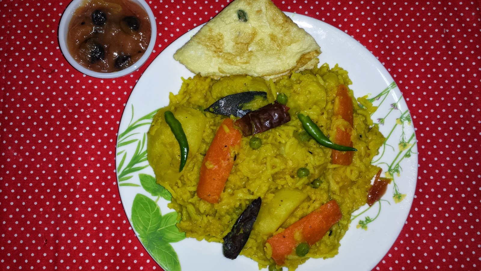 MASOOR DAL KHICHDI WITH ASSORTED VEGETABLES