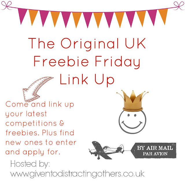 Freebie Friday 5th June Giveaway