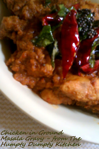Chicken in Ground Masala Gravy