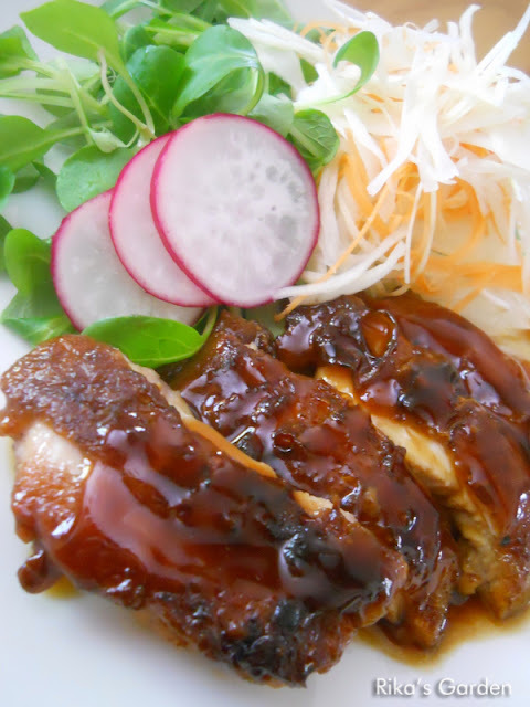 Pollo TERIYAKI♪