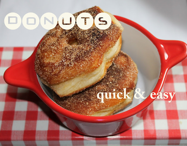 DONUTS QUICK & EASY