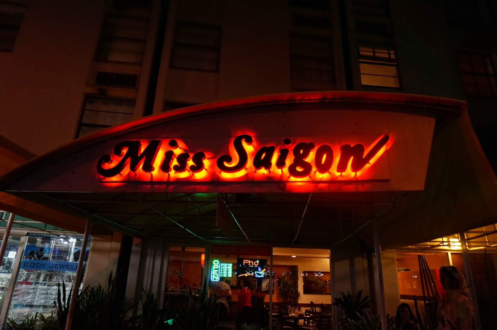 Restaurang - Miss Saigon (Miami)
