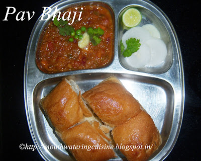 Pav Bhaji -- How to make Pav Bhaji Recipe -- Mumbai Pav Bhaji Recipe