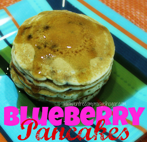 #Receta : BlueBerry Pancakes