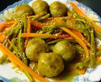 Recetas de guarnicion para albondigas mytaste for Albondigas de verduras