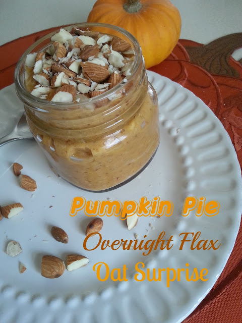 Pumpkin Pie Overnight Flax Oat Surprise (WW Pts)