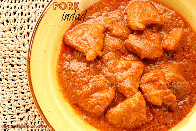 Pork Indad (Spicy, Sweet and Sour Pork) - When Hubby Cooks