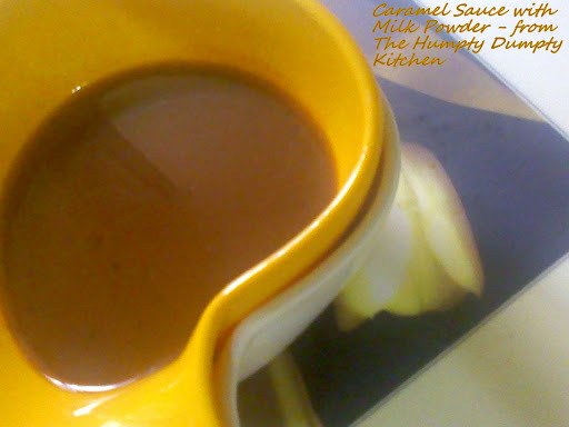 Caramel Sauce with Milk Powder