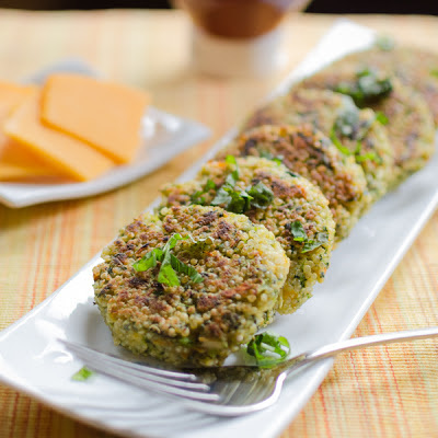Loaded Veggie Quinoa Sliders
