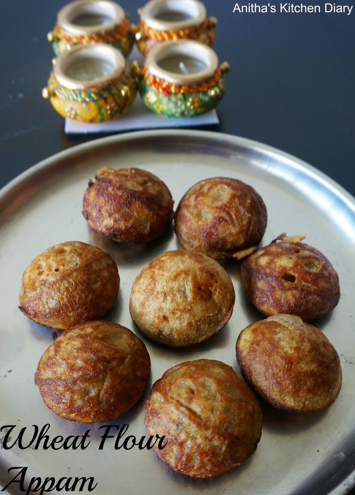 jaggery appam rice flour