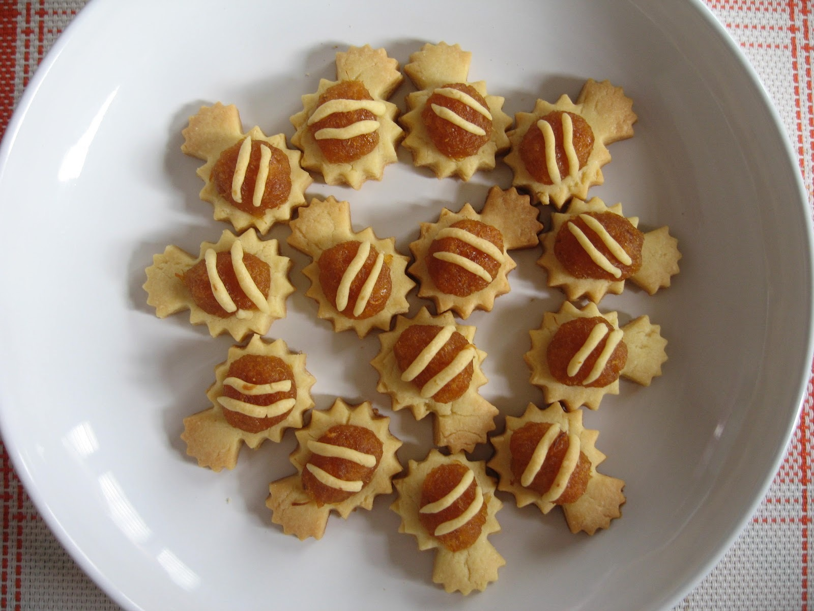 Cookies : Pineapple Tart 黄梨逹