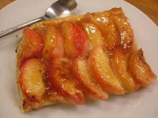 My pantry provides - Peach tart