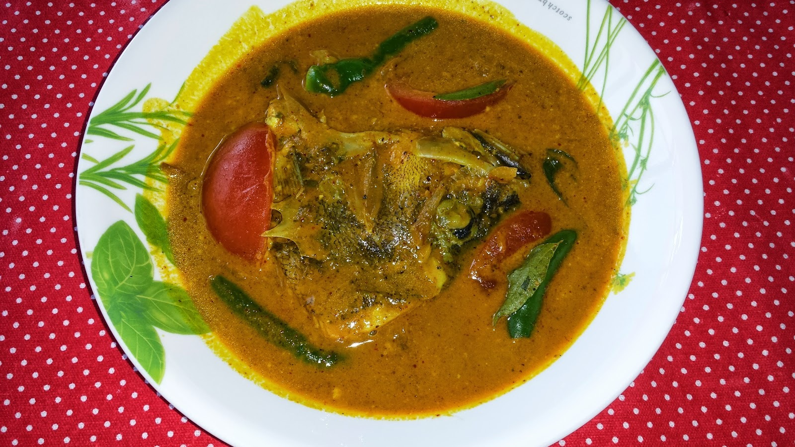 FISH HEAD CURRY[SINGAPORE SPECIAL]