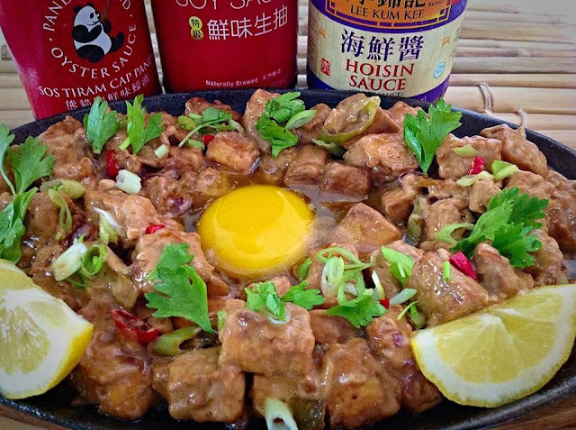 Sizzling Tofu with Oyster Sauce Recipe