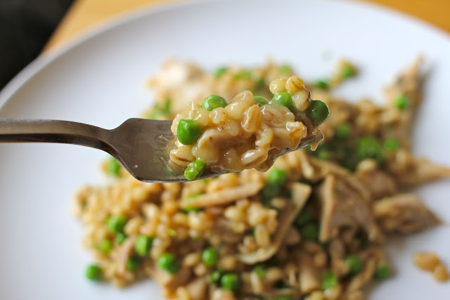 Orzotto (Pearl Barley Risotto) for babies, toddlers and grown ups