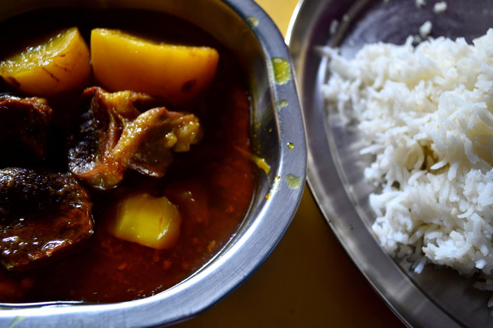 Mangsher Jhaal, Or, Chilli-Overload Mutton Curry