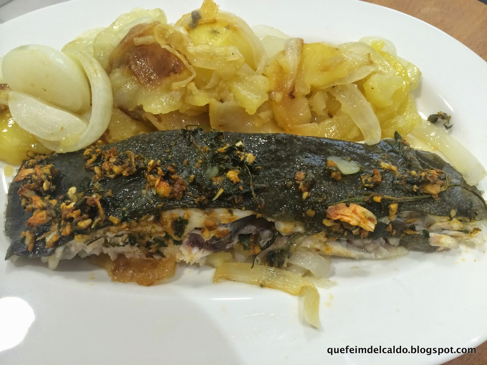RODABALLO AL HORNO - VIDEO-RECETA.