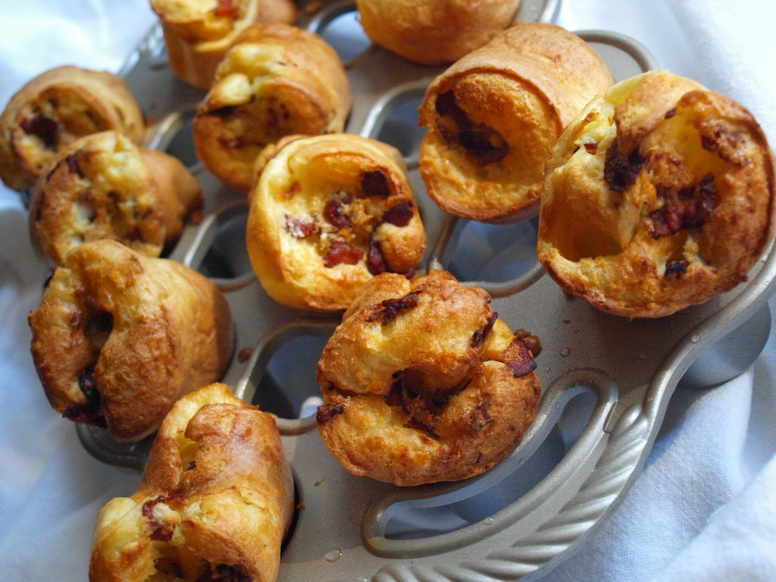 Bacon Popovers