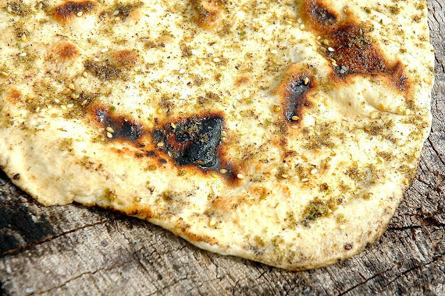 Frying Pan Flatbreads with Za'atar & Olive Oil