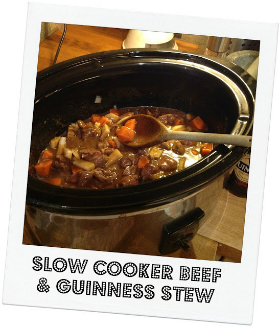 Slow Cooker Beef and Guinness Stew