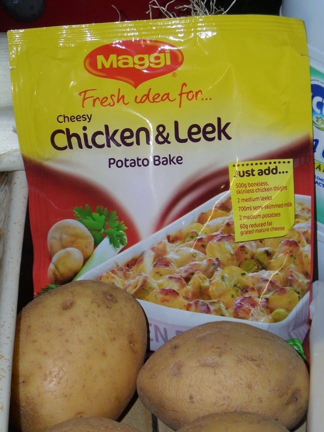 Maggi Cheesy Chicken & Leek Potato Bake review