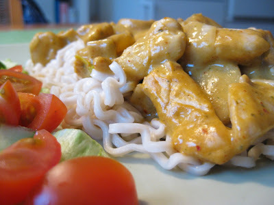 Thai red curry kyckling