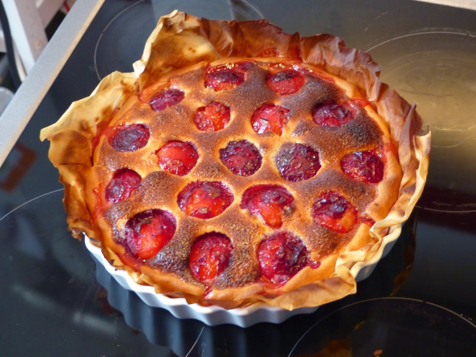 Tarte aux prunes / Plums pie