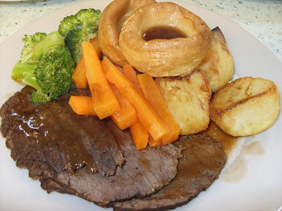 slow roast beef silverside joint