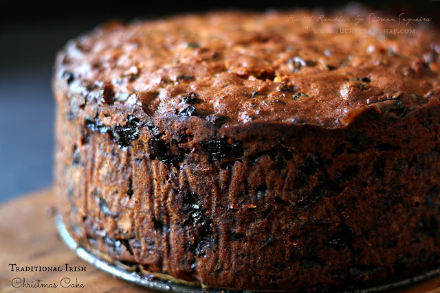 Traditional Irish Christmas Cake