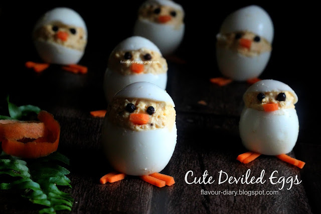 Cute Deviled Eggs