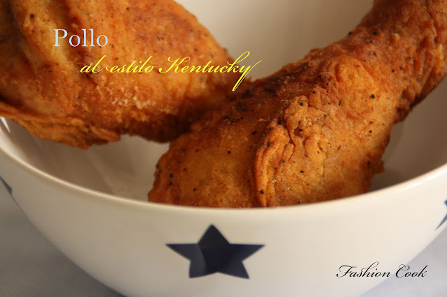 Pollo al estilo Kentucky