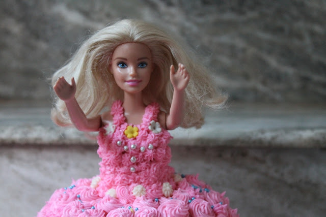 Barbie Birthday Cake Recipe - How to Make a Barbie Doll Cake at Home