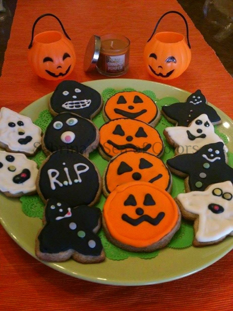 Decoración de galletas para Halloween