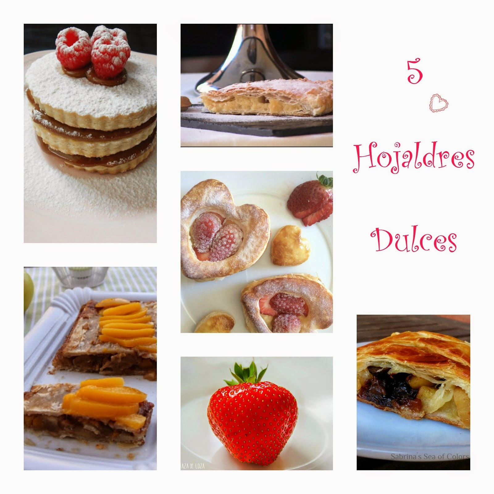 5 Hojaldres Dulces
